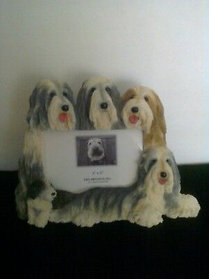Bearded Collie Beardie 4x6 Picture Frame Clearance