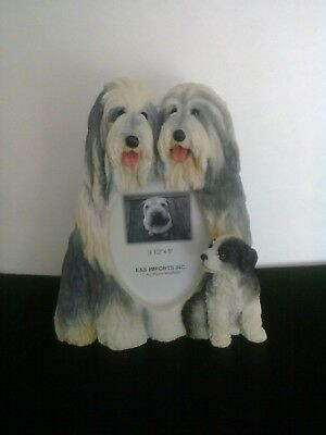 Bearded Collie Beardie 3 1/2 x 5 Picture Frame Clearance