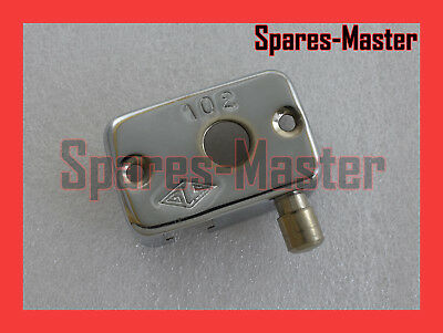 Lambretta Light Horn Dipper Switch Cover 2 Alloy Polished For Li Series