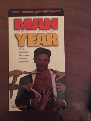Man of the Year (VHS, 1996) gay interest Dirk Shafer Phil Donahue