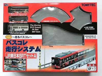 Tomytec N Scale 256892 Moving Bus Collection Basic Set JR EAST BRT Bus A