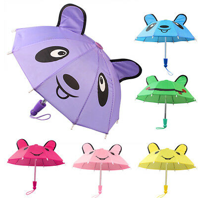 Baby Children Student Umbrella Handmade 18 inch Mini Kawaii Portable Umbrella