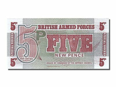 [#253033] Great Britain, 5 New Pence, 1972, KM #M44a, UNC(65-70)