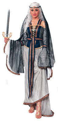 Womens Lady Of The Lake Costume Size Standard 6-14