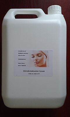 Pure Microdermabrasion crystals, 5kg, Grade A, Made in UK, Ship to all the UK.