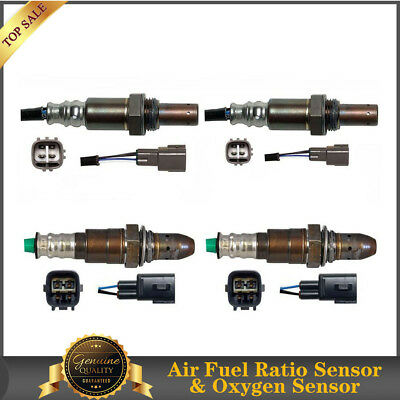 Up/&Downstream F/&R-Denso Oxygen Sensor 4PCS For 2013 Ram 1500 5.7L