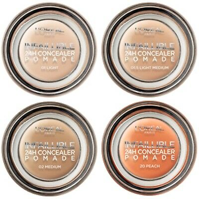 *NEW* L'Oreal Paris Infallible Concealer Pomade Full Coverage Full Size Sealed