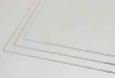 3mm - 15mm A3 A4 A5 Clear Cast Acrylic Perspex Plastic Panels Various Sizes