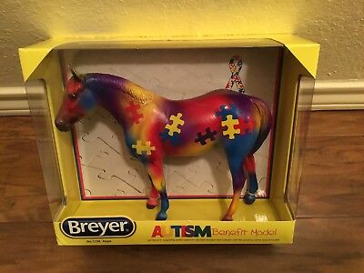 Breyer Horse Hope Autism benefit model  #1736 1:9 scale