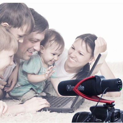 Electric Super-Cardioid Directional Condenser Microphone for Video Device
