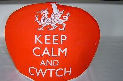 Wales/Welsh Dragon Tea Cosy.  Keep Calm and Cwtch.   Great Fun  Tea Cosy