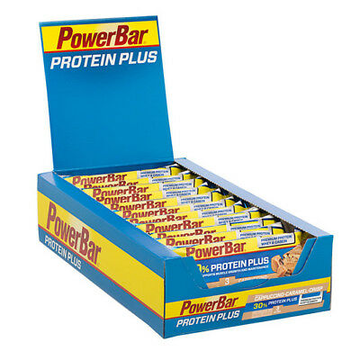 PowerBar Protein Plus Bar - Box of 15 x 55g Bars - Save up to 50%