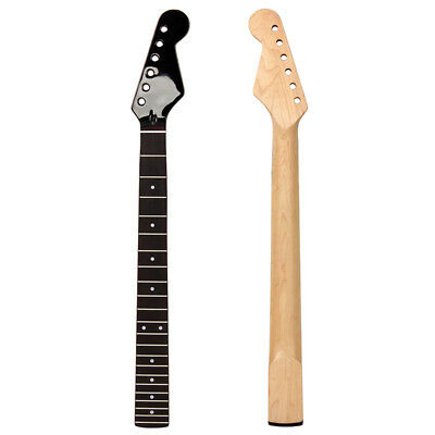 22 Frets Electric Guitar Neck for ST Guitar Parts Replacement Maple Gloss Head