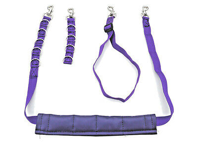 4 Piece Dog Grooming Harness.strap.noose.restraint.belly Pad,3 Colours.uk Made.