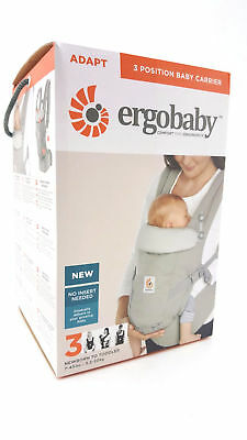 ERGOBABY BCAPEAGRY 3 POSITION ORIG BABY CARRIER PEARL GRAY 7-45 lb {30-1264}*