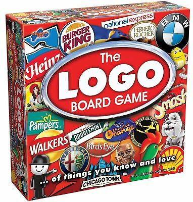 The Original LOGO Board Game 2-6 Player Friends Family Quiz Adults Kids Set 12+