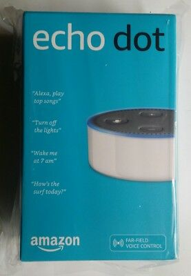 Amazon Echo Dot (2nd Generation) Smart Assistant - White. Australian version.