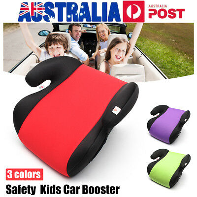 Anti-Slip Safe Sturdy Car Booster Seat Baby Children Kid Fit 3-12 Years Travel