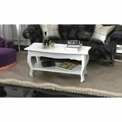 New White Coffee Table Side Bedside Office Kitchen Modern Furniture High Gloss
