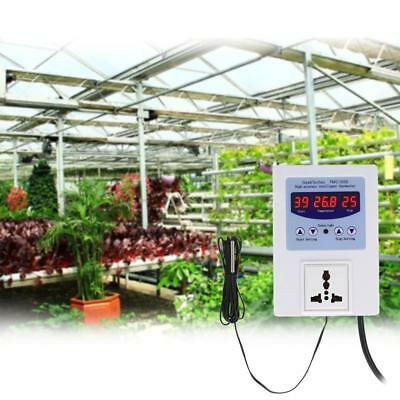 AC110-240V 10A LED Digital Intelligent Pre-wired Temperature Controller J3F9