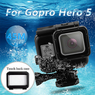 For Gopro Hero 6 5 Waterproof Housing Case Cover Shell Touch Screen Backdoor AU