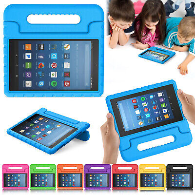 For Amazon Fire 7 9Th Gen 2019 HD 8 / HD10 Kids Case ShockProof EVA Handle Cover