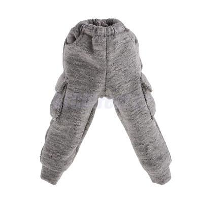 Grey Casual 1/6 Doll Clothes Pants with Pocket for 12'' Blythe Doll Clothes