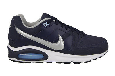 the latest cfe43 57860 Scarpe sportive uomo Nike Air Max Command Leather 749760-401 Blu-Argento