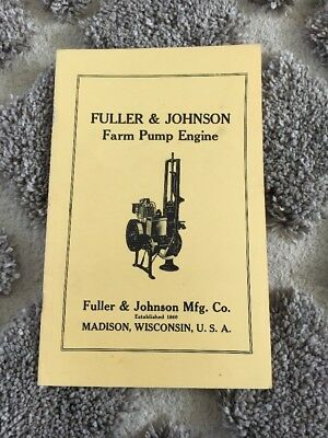 Fuller & Johnson Farm Pump Engine Manual Hit and Miss Gas Stationary