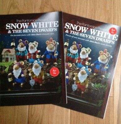 Alan Dart Knitting Pattern for Snow White And The Seven Dwarfs. Part 1 And 2