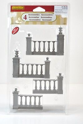 1:25, 1:24 stone gate and fence, diorama, Lemax