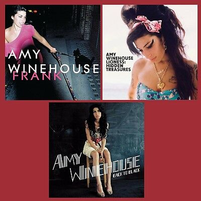 Amy Winehouse - Albums Bundle - Frank/Back To Black/Lioness - 3 x Vinyl LP *NEW*
