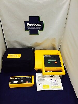 Physio Control LifePak 500-Patient Ready w/ New Battery & Pads