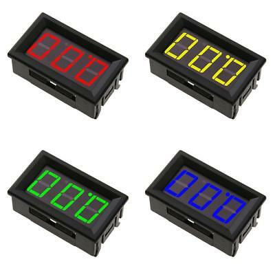 "0.56"" LED DC 0-100V Digital Display Panel Volt Meter Voltage Voltmeter 3 Wires"
