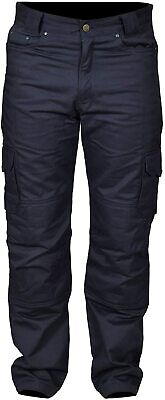 Motorcycle Cargo Working Pant Jeans Trouser Padded Protective Lineing Armour
