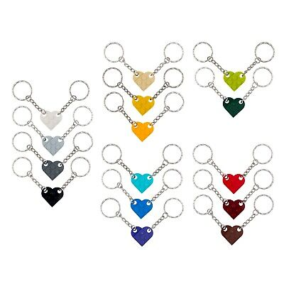 Heart Keyring / Keychain made with LEGO bricks - friendship, love, gift