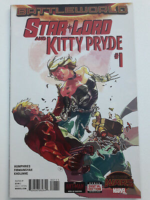 STAR LORD AND KITTY PRYDE #1, 2015, VF/NM 9.0, Secret Wars, Sam Humphries script