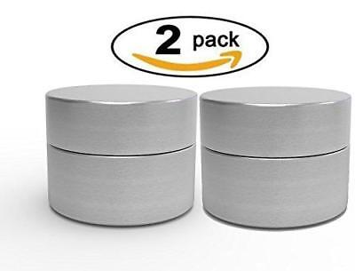 Herb Stash Jar | 2 Solid Aluminum Airtight Smell Proof Containers #1 Best WayTo