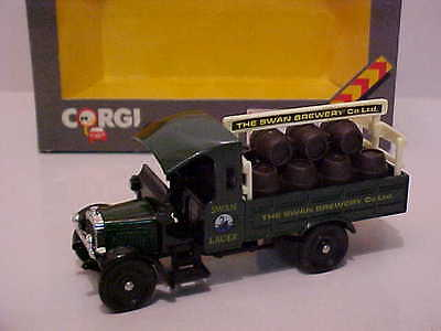 CORGI Thornycroft Truck  Swan Brewery Mint boxed Limited edition for Australia
