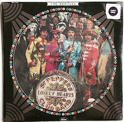 The Beatles, Sgt' Pepper Picture Disc, Original , Sealed, Never Opened