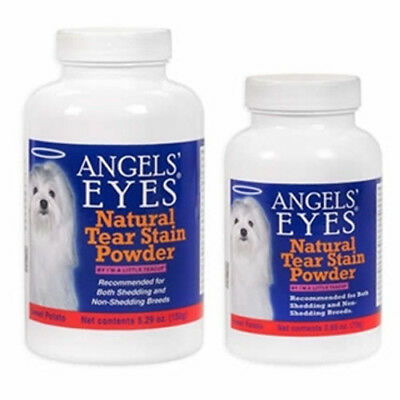 ANGELS EYES SWEET POTATO NATURAL Dog Tear Stain Remover Powder Angel Eyes
