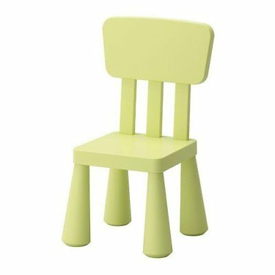Ikea Mammut Childrens Chair Kids Furniture Toddlers Playroom Bedroom Seating