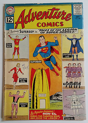 Adventure Comics #300 (1962) VG- Superboy & 1st Tales of the Legion !