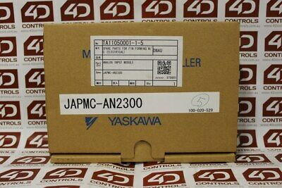 Yaskawa JAPMC-AN2300 Analog Input Module - New Surplus Open