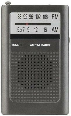 Portable AM/FM Transistor Radio