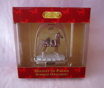 Breyer 2013 * Holiday on Parade * Horse Christmas Stirrup Ornament 700313 NIB