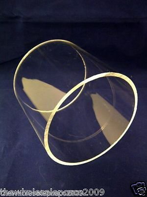 Round Clear Plastic Acrylic Perspex Tube 180mm, 200mm, 220mm, 240mm, 250mm 300mm