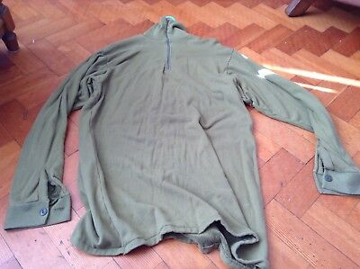 FAMOUS NORGIE ECW POLAR NECK SHIRT ROYAL MARINES NORWAY 120cm?