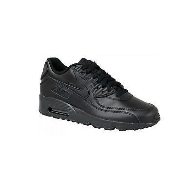 NIKE Air Max 90 Leather GS 833412008 Donna Scarpe Sneaker LTR