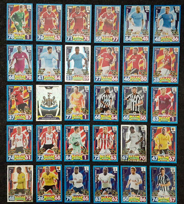 CLEARANCE SALE - 2017/18 Match Attax English Premier League - Base Cards